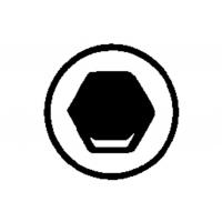 """Инструментальные насадки  для винтов с внутренним шестигранником """"Torsion"""" (624452000)"""
